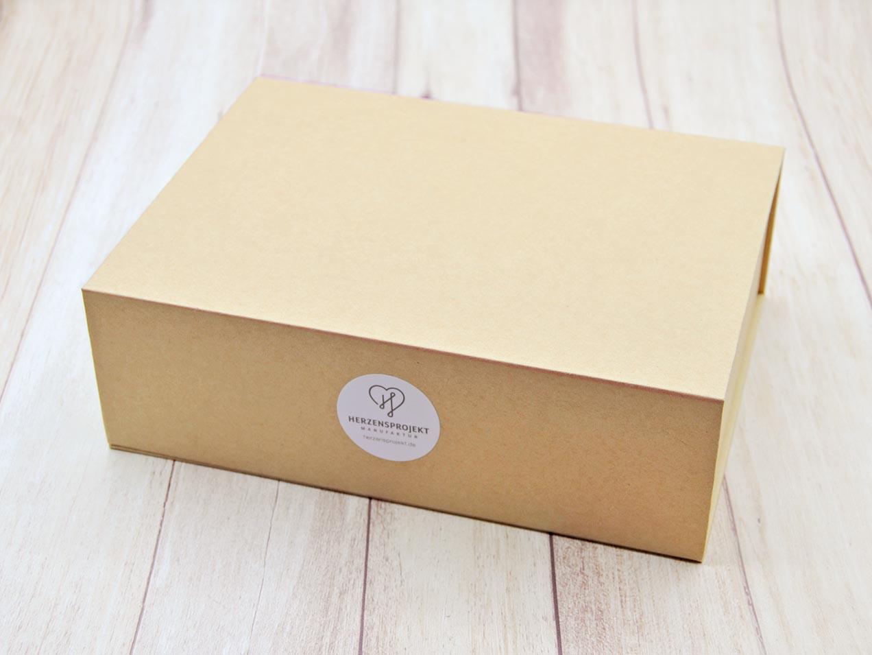 Geschenkverpackung wiederverwendbar