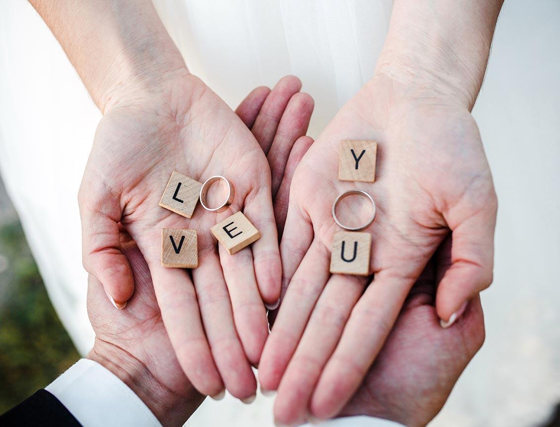 Geschenkidee zur Hochzeit